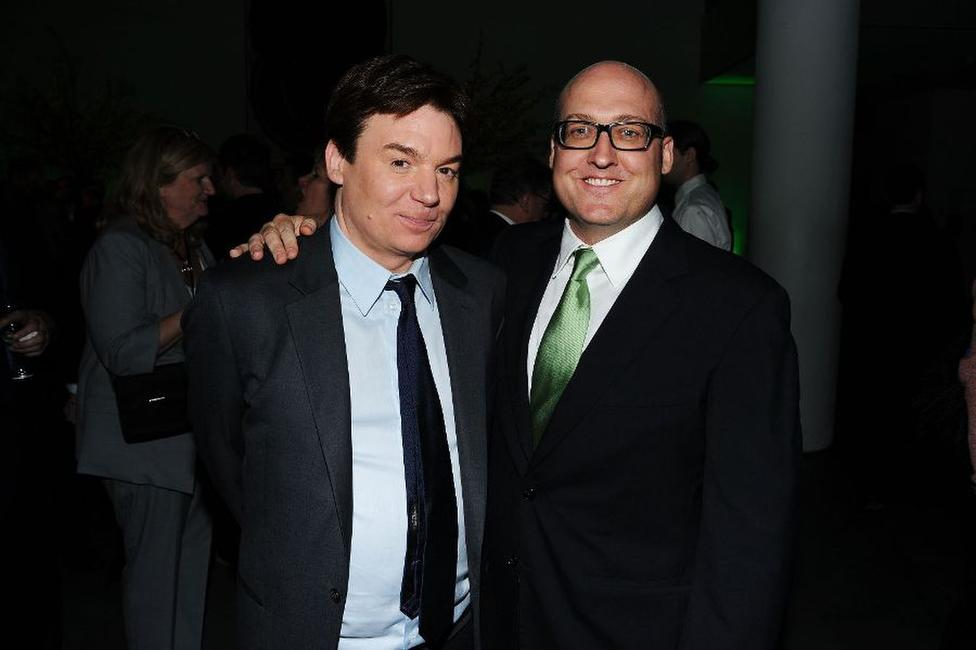Mike Myers and director Mike Mitchell at the after party of the New York premiere of