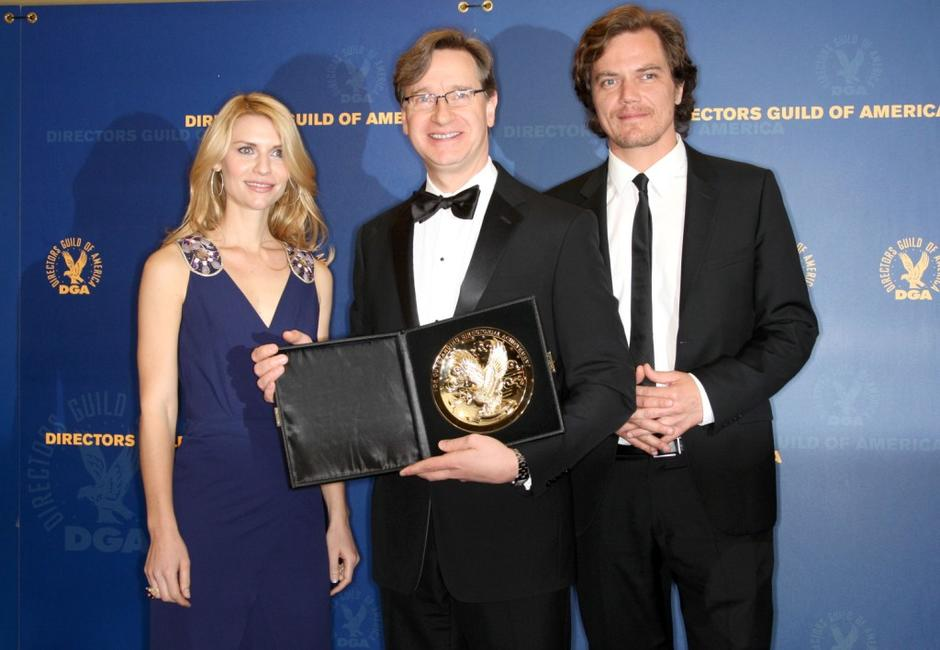 Claire Danes, director Paul Feig and Michael Shannon at the 61st Annual Directors Guild of America Awards.