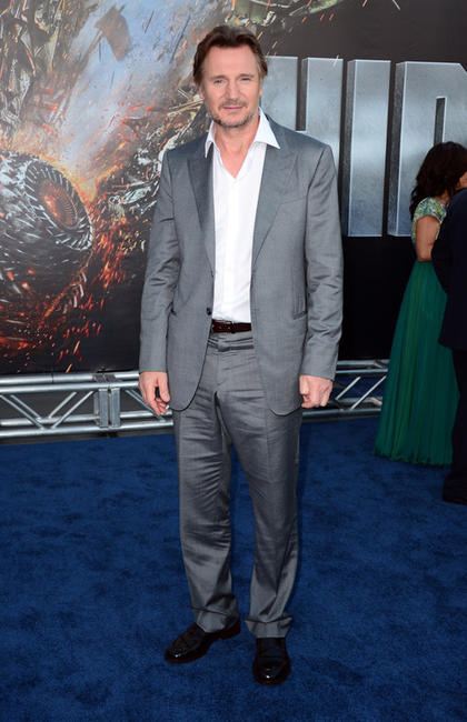 Liam Neeson at the California premiere of
