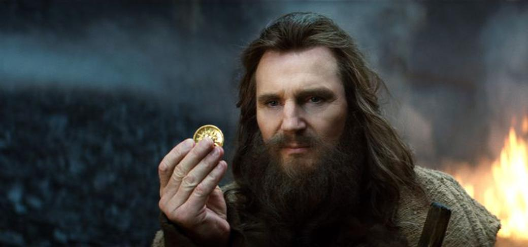 Liam Neeson as Zeus in