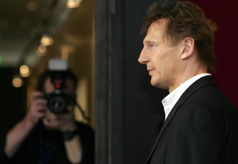 Liam Neeson at photocall for his film