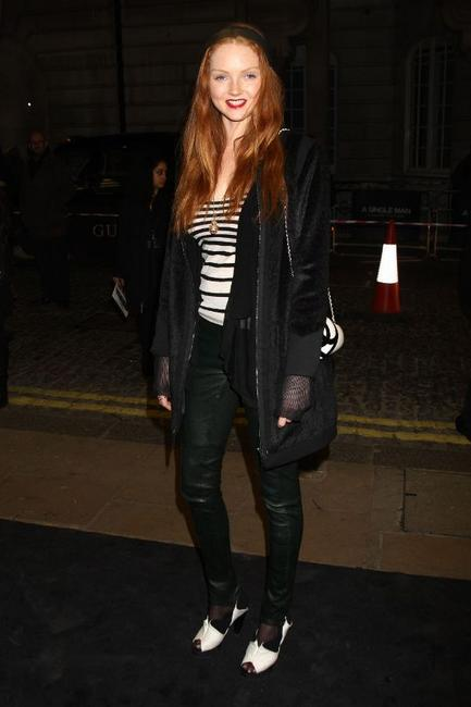 Lily Cole at the UK premiere of