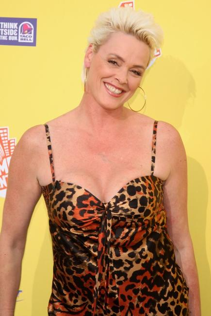 Brigitte Nielsen at the Comedy Central Roast of Flavor Flav at Warner Bros. Studio Lot.