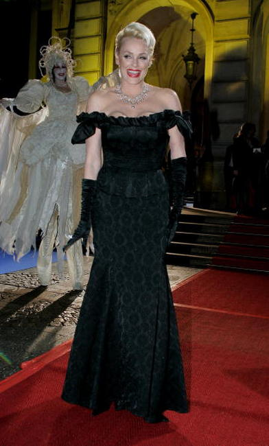 Brigitte Nielsen at the Deutscher Opernball 2007.