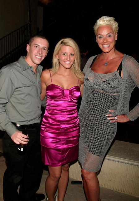 Eric Stein, Jessica Hughbanks and Brigitte Nielsen at the 2007 Fox Reality Channel Really Awards.