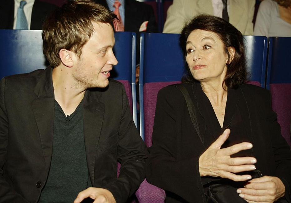 Anouk Aimee and August Diehl at the Munich film festival, for