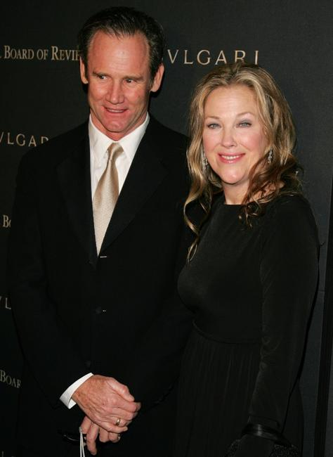 Catherine O'Hara and her husband Bo Welch at the 2006 National Board of Review Awards Gala.