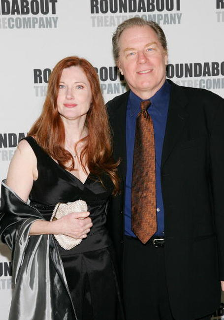 Annette O'Toole and her husband Michael McKean at the Roundabout Theatre Company's Spring Gala 2006.
