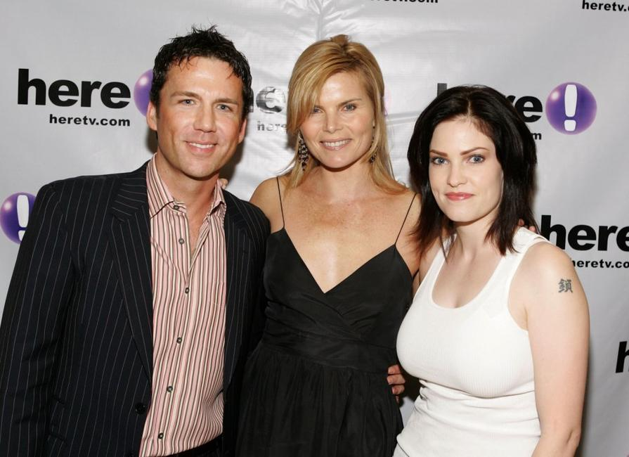 David Millbern, Mariel Hemingway and Jill Bennett at the Los Angeles premiere of