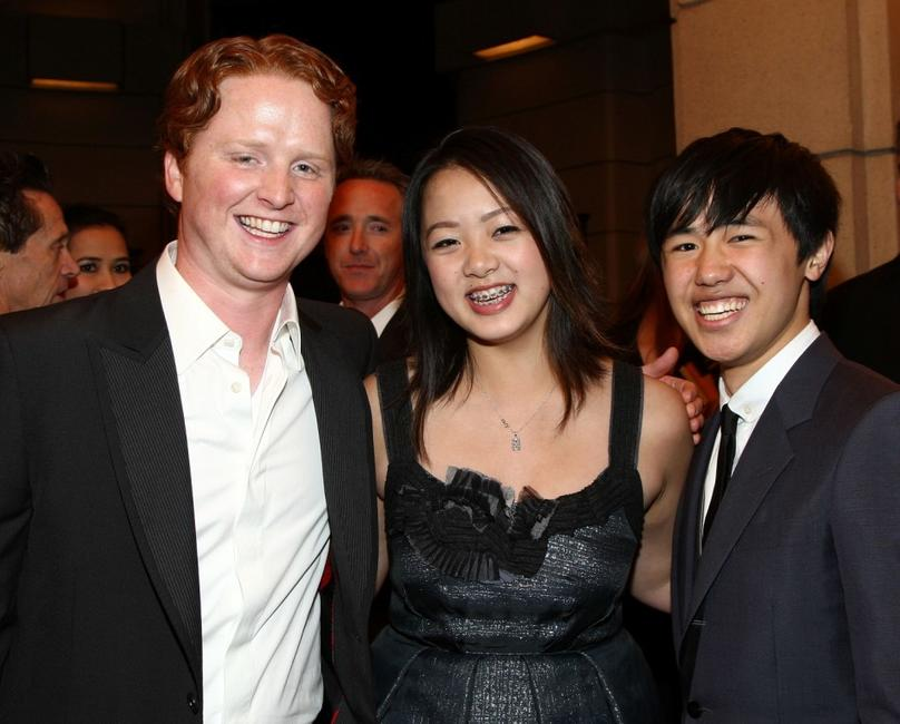 Christopher Carley, Ahney Her and Bee Vang at the premiere of