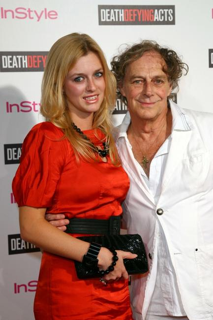 Grace Otto and Barry Otto at the premiere of