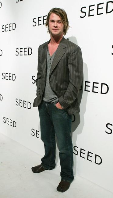 Chris Hemsworth at the launch of SEED, a new venture in Film, Television and Theatre set-up.