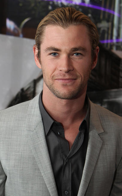 Chris Hemsworth at the LA premiere of