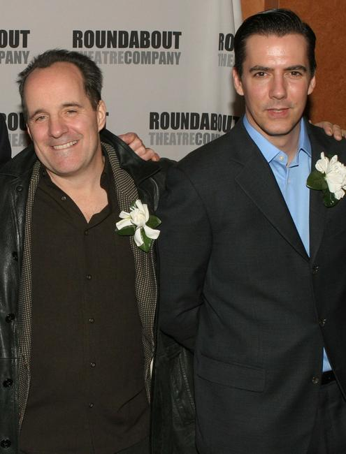 John Pankow and Adam Trese at the premiere of
