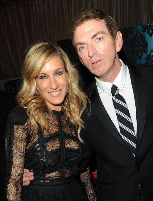 Sarah Jessica Parker and Michael Patrick King at the after party of the New York premiere of