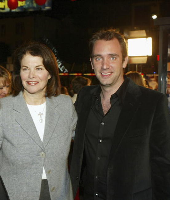 Trey Parker and Sherry Lansing at the Los Angeles premiere of