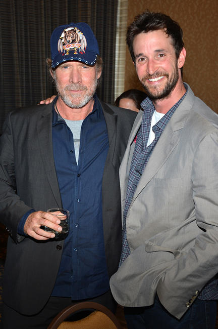Will Patton and Noah Wyle at the press line of
