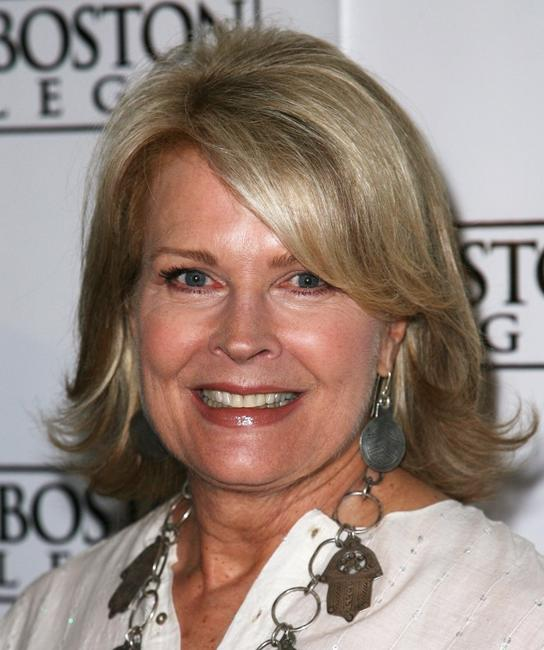 Candice Bergen at the panel discussion with the cast and crew of