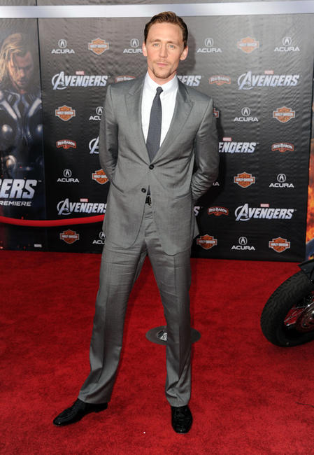 Tom Hiddleston at the California premiere of