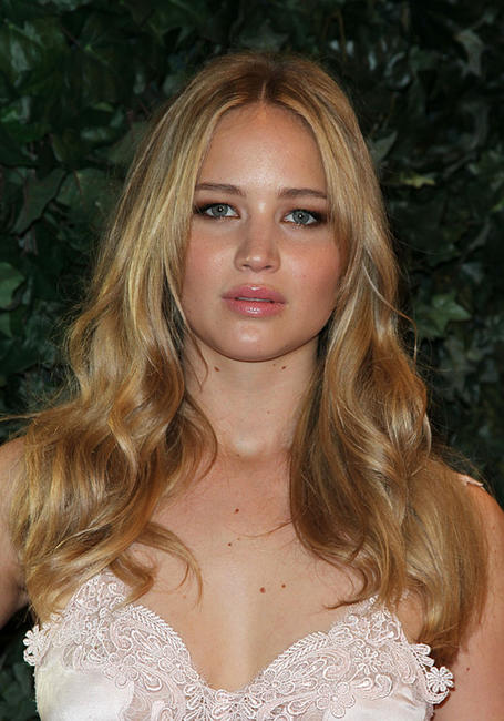Jennifer Lawrence at the QVC Red Carpet Style Party in California.