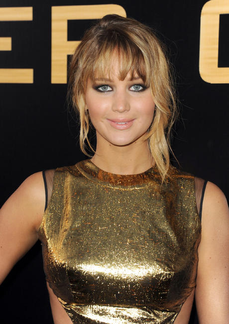 Jennifer Lawrence at the California premiere of