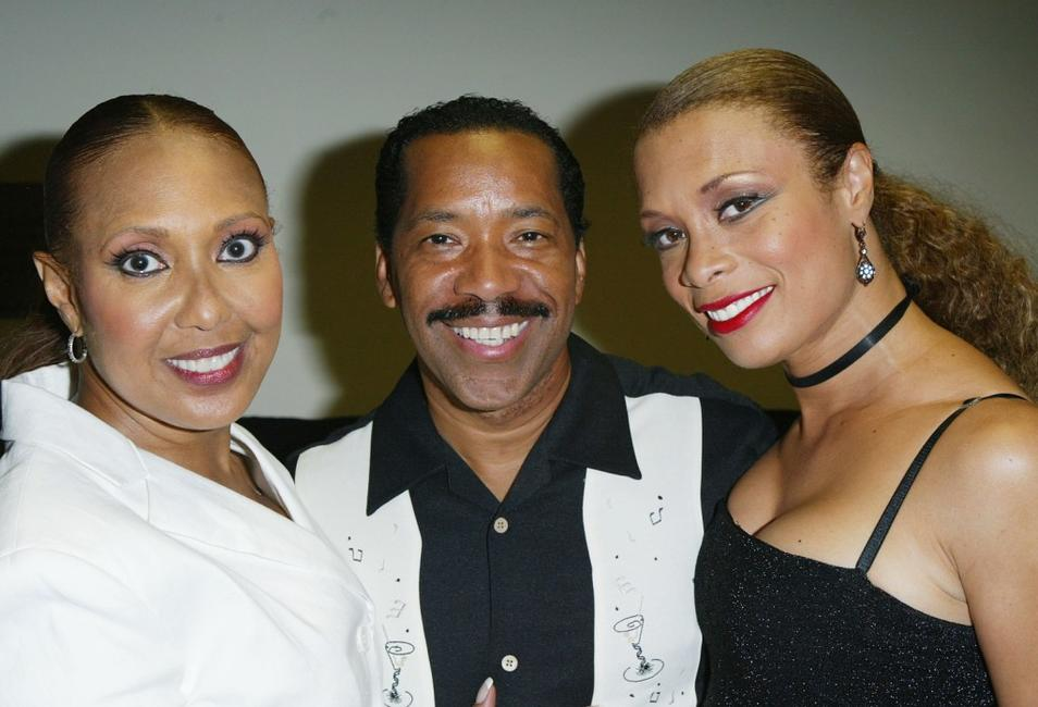 Telma Hopkins, Obba Babatunde and Valarie Pettiford at the