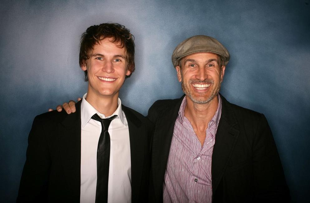 Rhys Wakefield and Craig Gillespie at the 2008 Movie Extra FilmInk Awards.