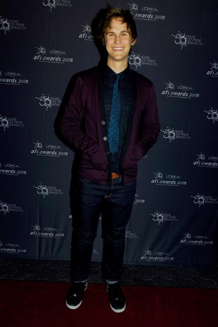 Rhys Wakefield at the L'Oreal Paris 2008 AFI Awards.