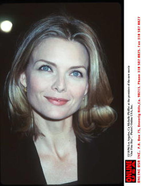 Michelle Pfeiffer at the premiere of the new movie