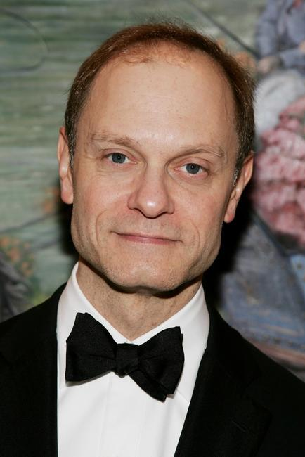 David Hyde Pierce at the Broadway opening night after party for