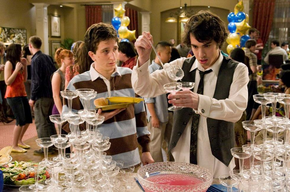 Paul Rust as Denis and Jack T. Carpenter as Rich in