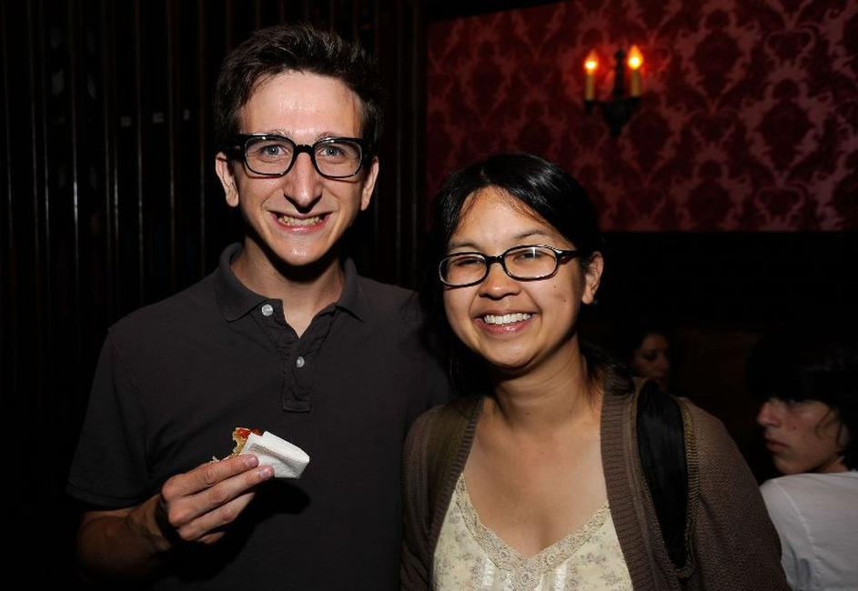 Paul Rust and Charlyne Yi at the Los Angeles screening of