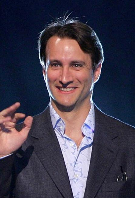 Bronson Pinchot at the MTV Networks Upfront.
