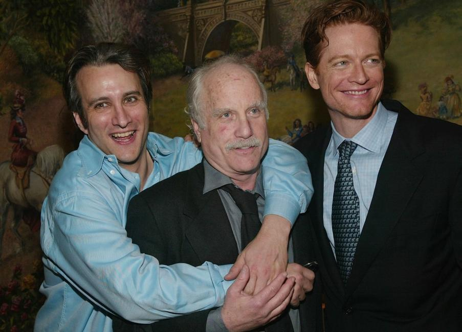 Bronson Pinchot, Richard Dreyfuss and Eric Stoltz at the Broadway opening of