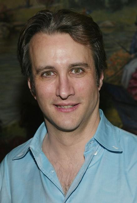 Bronson Pinchot at the Broadway opening of