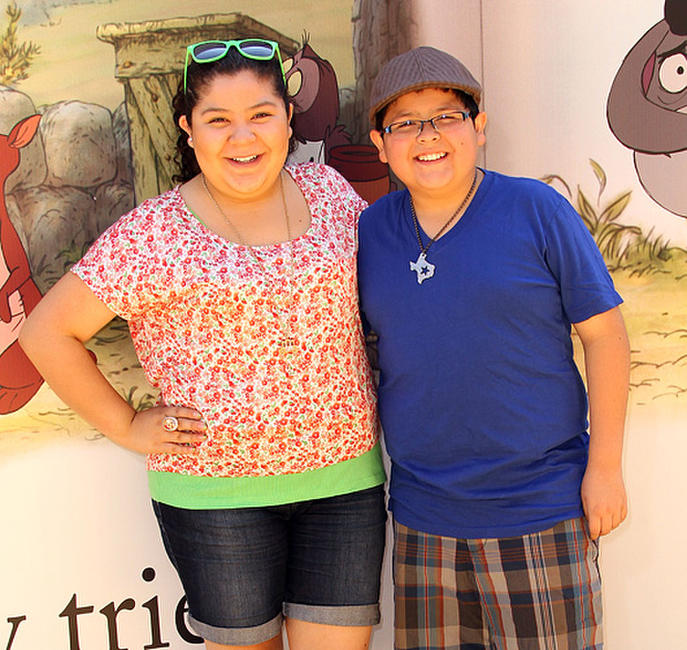 Raini Rodriguez and Rico Rodriguez at the California premiere of