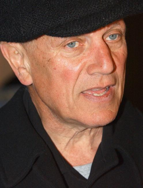Steven Berkoff at the premiere of
