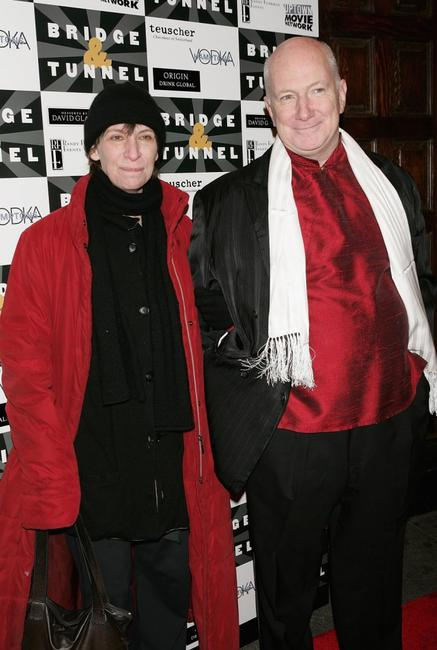 Amanda Plummer and Alan Bushman at the opening night of