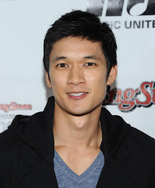 Harry Shum, Jr. at the Rolling Stone's