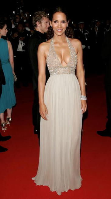 Halle Berry at the Cannes premiere of