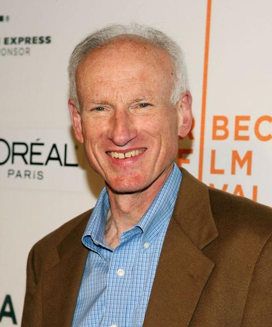 James Rebhorn at the premiere of