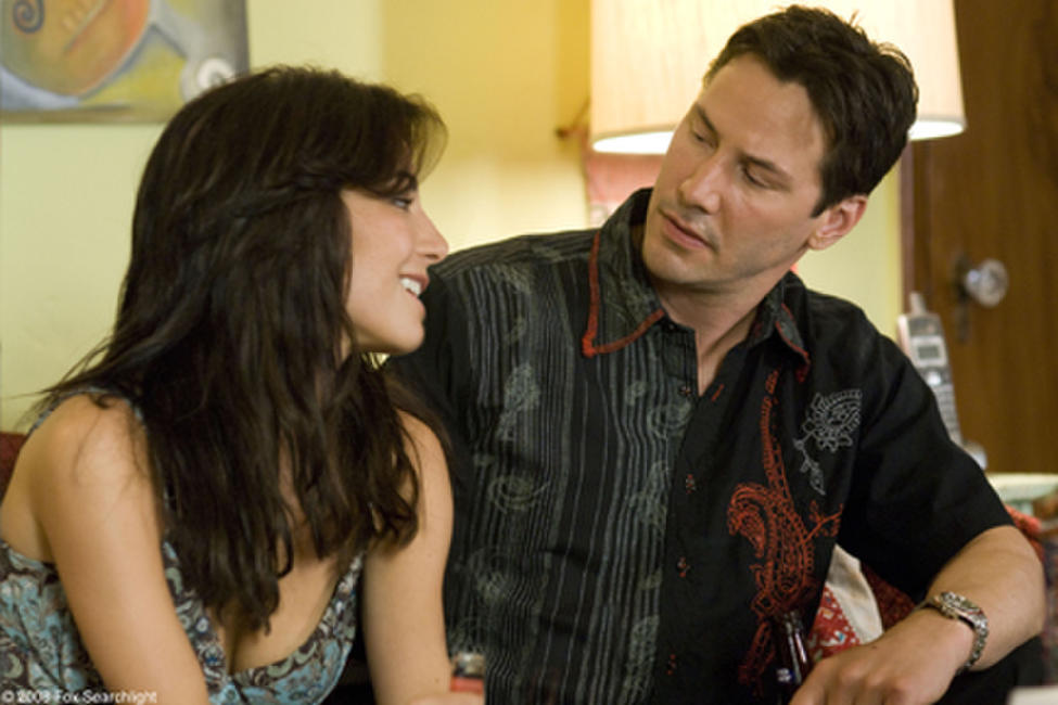 Martha Higareda and Keanu Reeves in