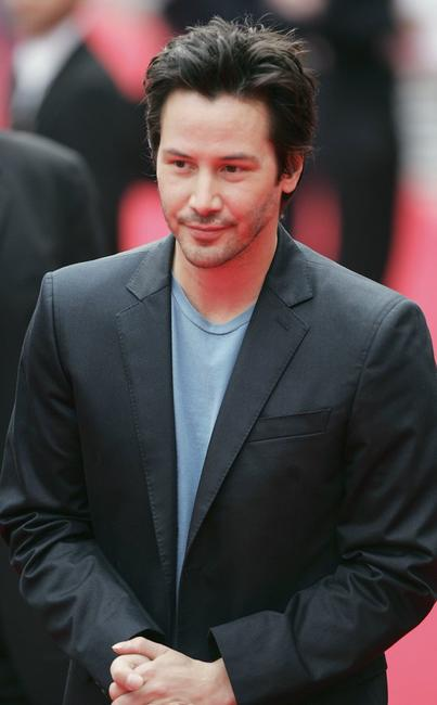 Keanu Reeves at the UK premiere of