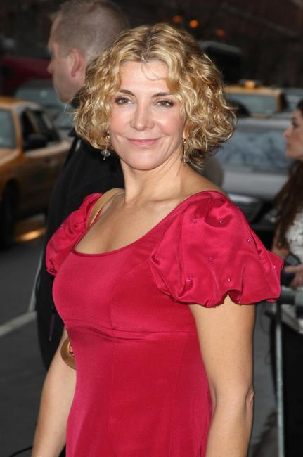 Natasha Richardson at the Marchesa Fall 2008 fashion show during the Mercedes-Benz Fashion Week Fall 2008.