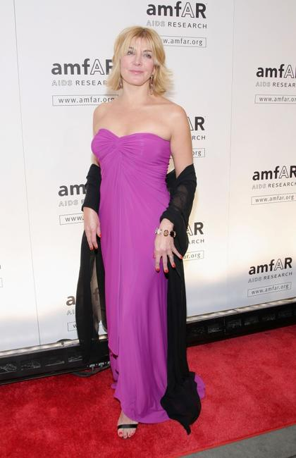 Natasha Richardson at the amfAR New York Gala.