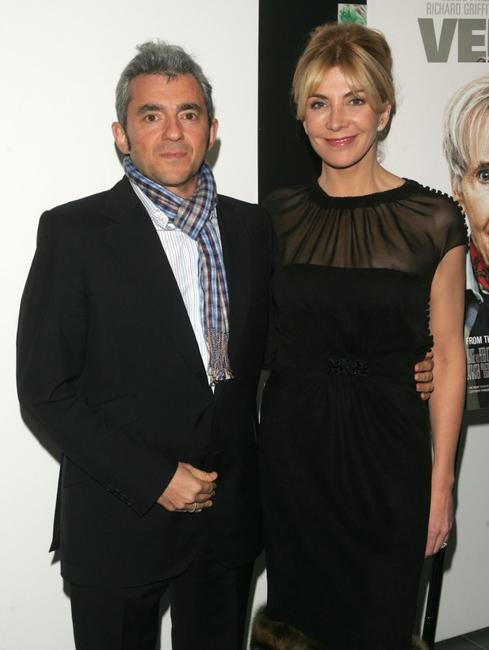 Natasha Richardson and Daniel Battsek at the special screening of Miramax Films'