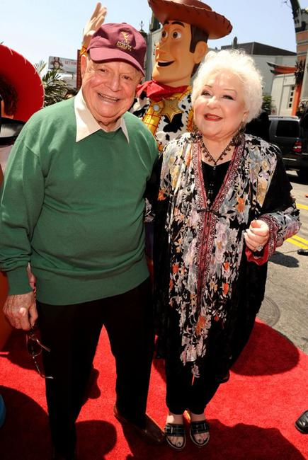 Don Rickles and Estelle Harris at the California premiere of