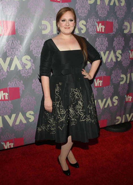 Adele at the 2009 VH1 Divas in New York.
