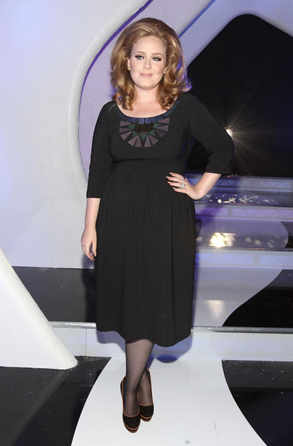 Adele at the 2011 MTV Video Music Awards in California.