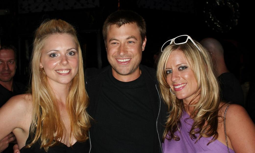 Collette Wolfe, director Jody Hill and Mary Jane Bostic at the pre-party screening of